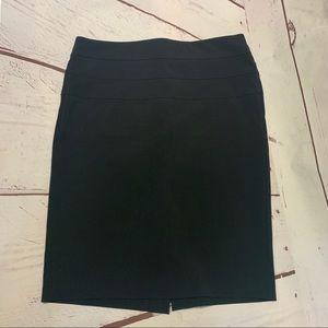 Candies Black Dress Skirt Size 7